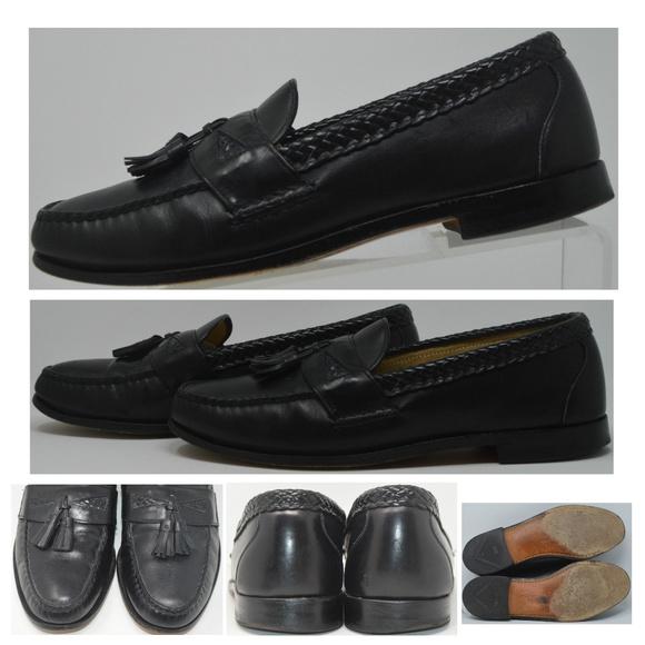Allen Edmonds Other - Allen Edmonds Maxfield Tassel Loafer Black Leather